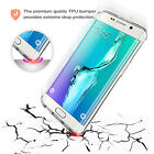 For Samsung Galaxy S6 Edge Plus Edge+ G9280 Thick TPU Gel Back Clear Case Cover