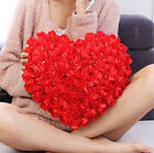FD2732 Cute Romantic Roses Throw Pillows Heart Shaped Cushions Gifts ~2 Colors~