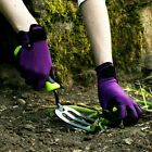Town & Country Weedmaster Plus Adjustable Velcro Cuff Plum Garden Gloves
