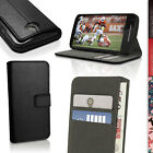 PU Leather Skin Wallet Case for Motorola Moto E 2nd Gen XT1524 Flip Stand Cover