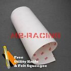 *3M Scotchgard Hood Bumper Clear Paint Protection Bra Film Vinyl Wrap Decal 6
