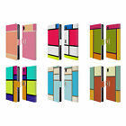 HEAD CASE DESIGNS HUED TILES LEATHER BOOK WALLET CASE COVER FOR SONY PHONES 1