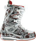 Burton Sapphire Snowboard Boots Flowers On Canvas Womens
