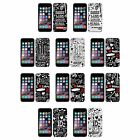 ONE DIRECTION OFFIZIELL DOODLE DESIGNS SOFT GEL HÜLLE FÜR APPLE iPHONE PHONES