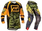 NEW 2016 FLY RACING EVOLUTION 2.0 GEAR COMBO CODE BLACK/ORANGE/GREEN ALL SIZES