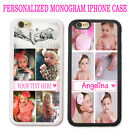 PERSONALIZED COLLAGE PHOTO Case Cover For iPhone 7 6S PLUS SE 5S...