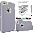 Protective Hybrid Shockproof Hard Case Cover For Apple iPhone X XS 7 8 6/6S Plus