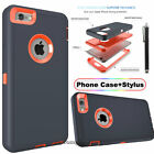 Protective Hybrid Shockproof Hard Case Cover For Apple iPhone X 7 8 6/6S Plus