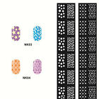Stamping Nail Art Hollow Templates Airbrush Stencils Stickers,Reusable Stamp
