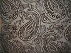 Lee Jofa Groundworks fabric remnant for craft paisley Paisley Flock mult colors