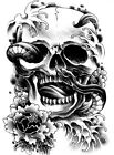 New Temporary Large Tattoo Arm Body Art Removable Waterproof Tattoo Sticker on Rummage