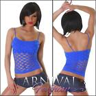 NEW SEXY LADIES FASHION MESH TOP ONLINE XS S M L XL WOMEN'S CLUBBING WEAR BEACH