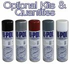 U-Pol Power Paint Spray Cans Paints/Primers Grey/Black/White/Red Matt/Gloss