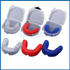 ADULT MOUTH GUARD with case,MMA UFC BOXING MARTIAL ARTS Teeth Protection Shield