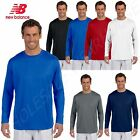 New Balance Men's Ndurance Athletic Long Sleeve S-3XL T-Shirt M-N7119