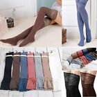 2015 Women Girls OVER the KNEE Thigh High Socks LACE Cotton Stockings Pantyhose