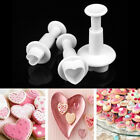 Xmas Fondant Cake Cutter Plunger Cookie Mold Sugarcraft Flower Decorating Mould