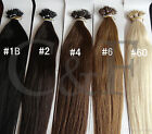 """16"""" 18"""" 20"""" 22"""" 24""""  Nano Ring Tip 100% Human Hair Extensions UK DELIVERY"""