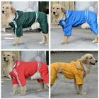 5 Sizes Dog Pet Waterproof Reflective Raincoat Rain Coat Jacket Apparel Clothes