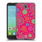 HEAD CASE PSYCHEDELIC PAISLEY SOFT GEL CASE FOR ALCATEL ONETOUCH IDOL 2