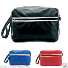 RETRO STYLE SPORTS MESSENGER BAG - MENS CASUAL SHOULDER CARRY DOCUMENT SCHOOL