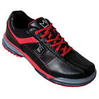 Brunswick TPU X Right Handed Bowling Shoes - Black/Red