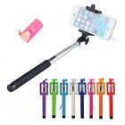 Extendable 3.5mm Wired Remote Shutter Handheld Selfie Stick For iPhone 6 Plus 5 <br/> 🚀 Fast  🆓Shipping 🎁 A+ 💯 Satisfaction ✅ US Seller😍