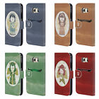 HEAD CASE DESIGNS CHRISTMAS ANGELS LEATHER BOOK WALLET CASE FOR SAMSUNG PHONES 1