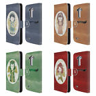 HEAD CASE DESIGNS CHRISTMAS ANGELS LEATHER BOOK WALLET CASE FOR LG PHONES 1