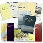 Clear Vinyl Book Covers for Watchtower Publications Ministry Ideaz