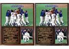 Kansas City Royals 1985 World Series Champions Photo Plaque George Brett on Ebay