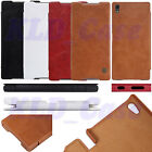 "For Sony Xperia Z5 Premium 5.5"" Nillkin Qin PU Leather Flip Wallet Cover Case"