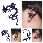 Punk style black 3D dragon ear cuff clip stud wrap earring multiple choices