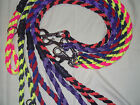 6ft 8 Strand Braided Paracord Dog Lead Obedience Rally Training