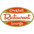 Restaurant Cocktail Lounge Wall Decal Bar Vintage Style Decor