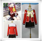 Anime Charlotte Tomori Nao Long Sleeve School Uniform Cosplay Costume