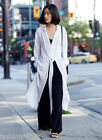 H&M New Long White Maxi Shirt Dress with Ties UK 10 12 14 16 Eastern Elegance