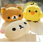 FD3152 Cartoon Rilakkuma Relax Bear Hands Warm Cushion Plush Pillow ~3 Colors~