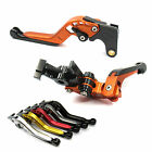 GAP Extendable Folding Brake Clutch levers for Kawasaki ZX11 90-01 ZRX 1100 1200