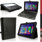 PU Leather Skin Folio Case for Asus Transformer Book T100 Chi Flip Stand Cover