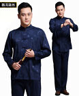 Men New Arrival Suits Chinese Traditional Kung-Fu Jacket Trousers M L XL 2XL 3XL