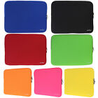 Solid Color 14-inch Notebook Laptop Soft Sleeve Case Bag Cover 7 Colors AS