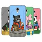 HEAD CASE DESIGNS ANIMALS BREAKTIME SOFT GEL CASE FOR ALCATEL PHONES