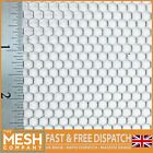 4mm Hole x 4.5mm Pitch x 1mm Thick Hexagonal Mild Steel Perforated Mesh Sheet