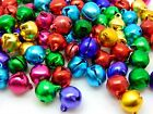 Mixed Colour Christmas Jingle Bells Charm Jewellery Beads 6mm 9mm & 11mm Ml