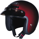 Z1R Jimmy Solid Open Face Helmet Wine