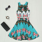 New Summer Sexy Women Sleeveless Casual Mini Dress Evening Cocktail Party Dress
