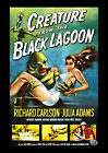 CREATURE FROM THE BLACK LAGOON 01 (JULIA ADAMS AND RICHARD CARLSON)  FILM POSTER