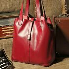 Vintage Women Faux Leather Bag Messager Satchel Handbag Tote shoulder Hobo bag
