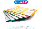 Colourful A4 Pukka Pad Irlen Comfort in Colour Ruled Pad With Margin 100 Pages